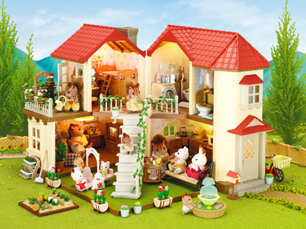 Catalog sylvanian families for Amanda family maison