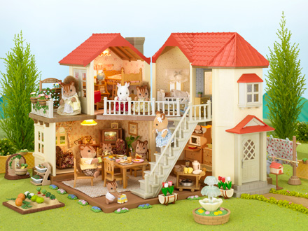 Catalogo sylvanian families for Set completo di piani casa pdf