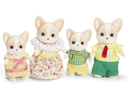 Calico Critters Dog Family Names