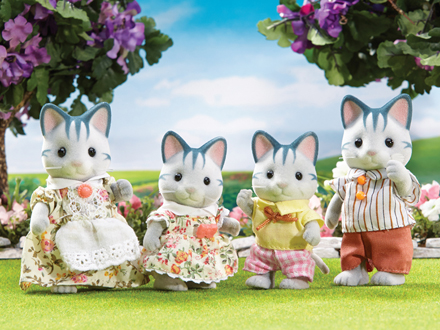 Fisher Cat Family|Calico Critters