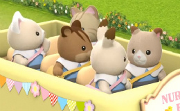 Kindergarten-Doppeldeckerbus